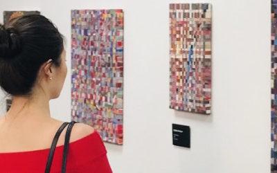 Elizabeth Xi Bauer at London Art Fair 2020