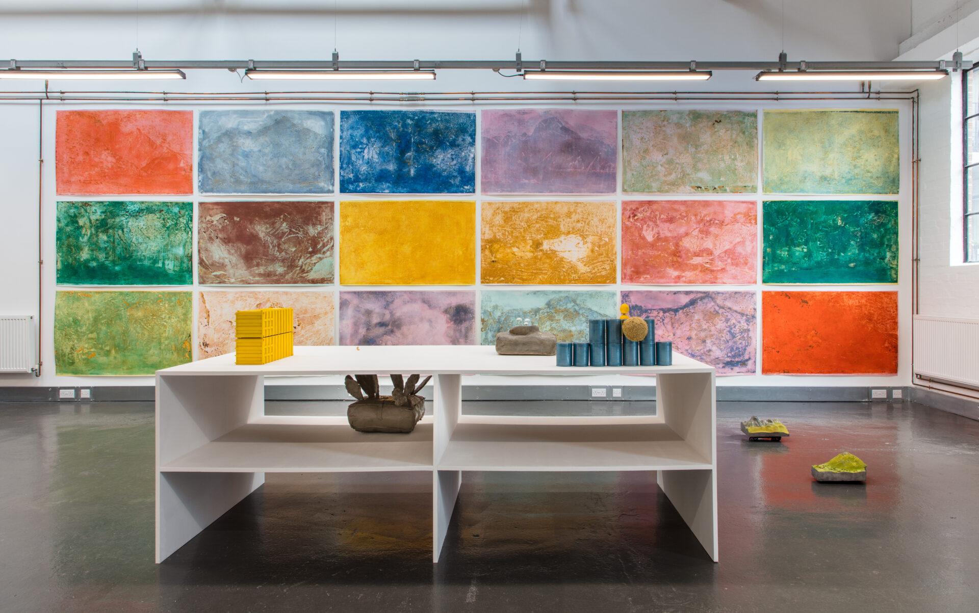 Elizabeth Xi Bauer exhibition art gallery The Garden of Unearthly Delights